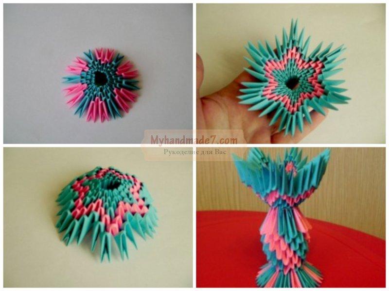 Модульное оригами «пасхальное яйцо»: пошаговая инструкция по сборке с фото