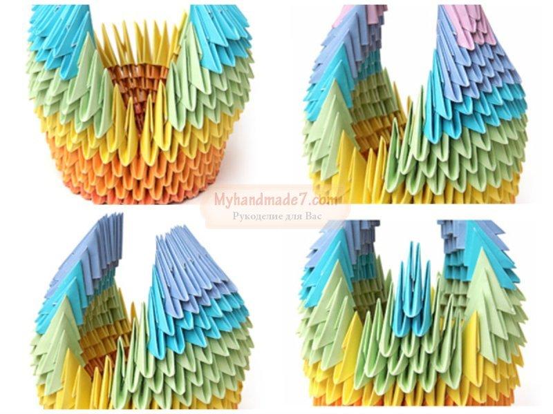 Лебедь из бумаги: как сделать своими руками. Подробные мастер-классы с фото