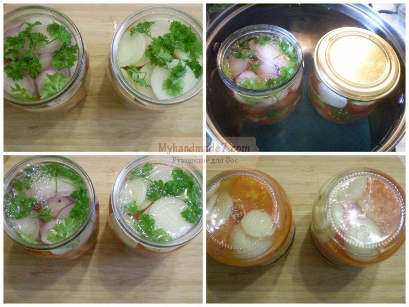 Зимний салат из помидоров: отличные варианты с фото