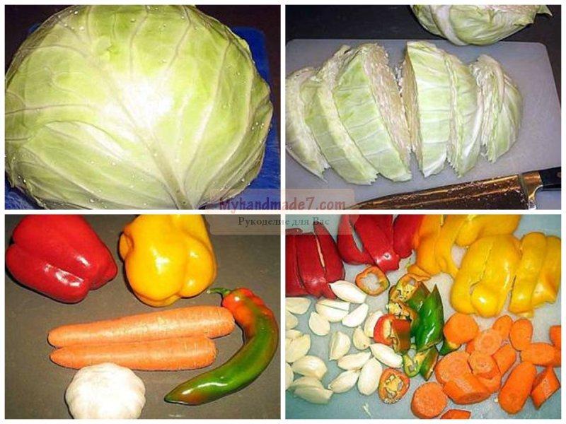 Салат из капусты и моркови. Как заготовить на зиму?