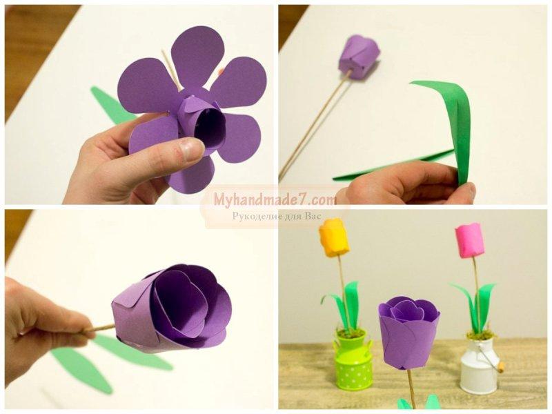 Цветы из бумаги своими руками: подробные мастер-классы с фото