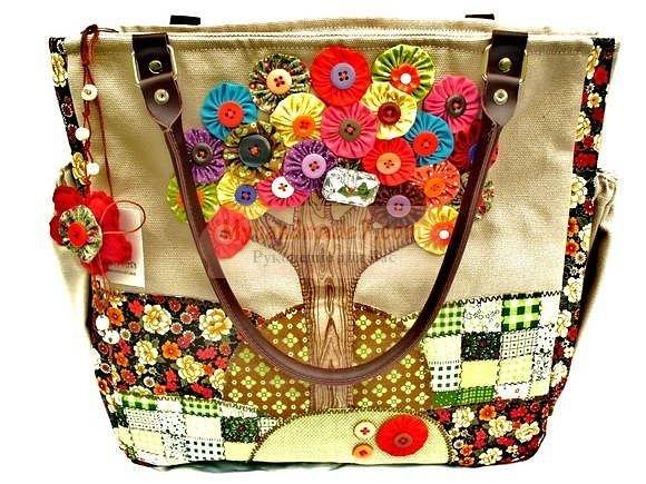 Декор сумки: делаем своими руками