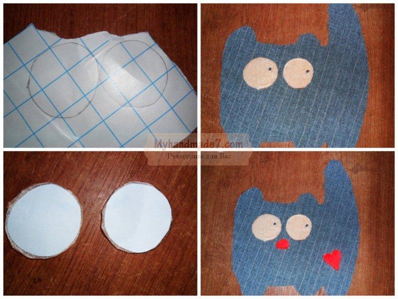 Как сделать для кота из ткани 989