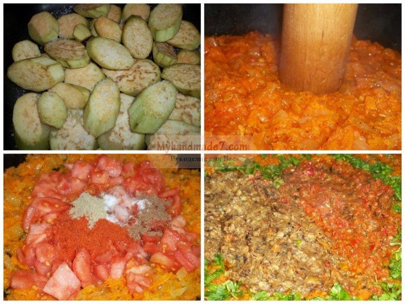 горячее из баклажанов рецепты с фото