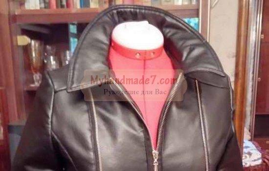 Осенняя куртка женская. Как сшить своими руками?