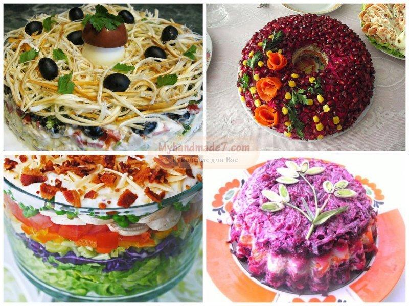 Рецепты салатов на Новый 2017 год. ТОП-5 самых вкусных и оригинальных