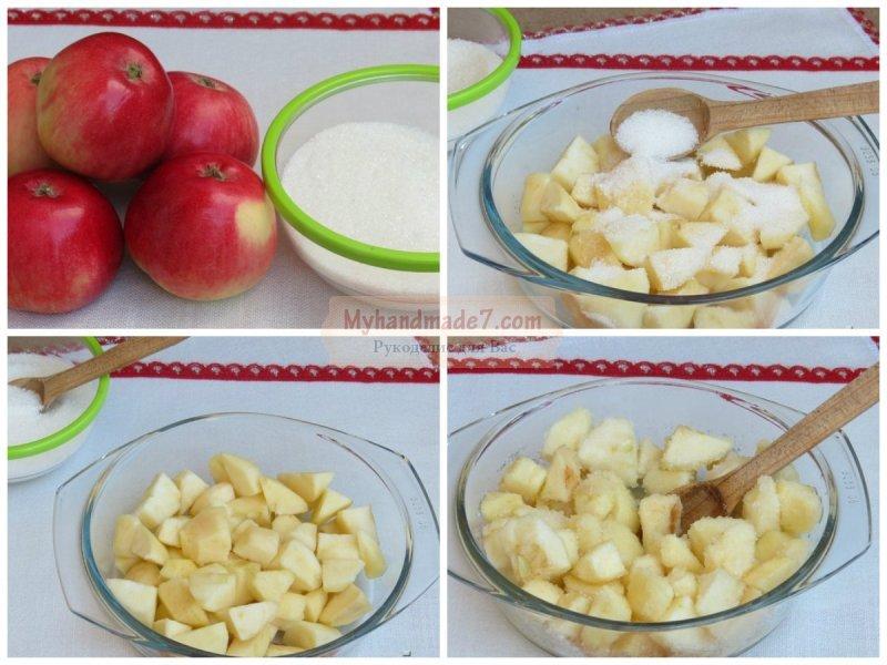 Варенье-пятиминутка из яблок: золотые рецепты с фото
