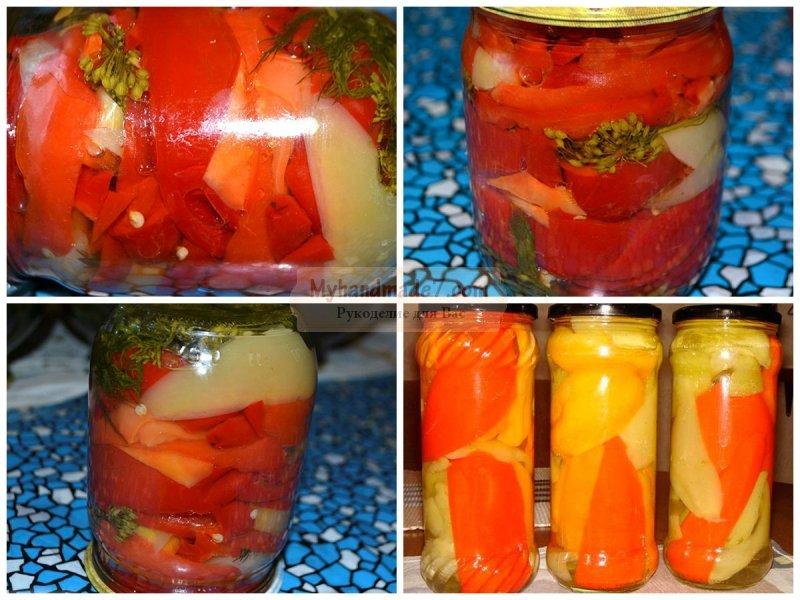 Перец маринованный рецепт