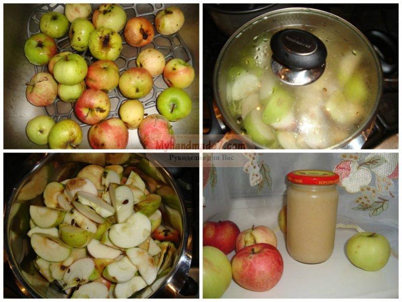 Рецепты простые из яблок