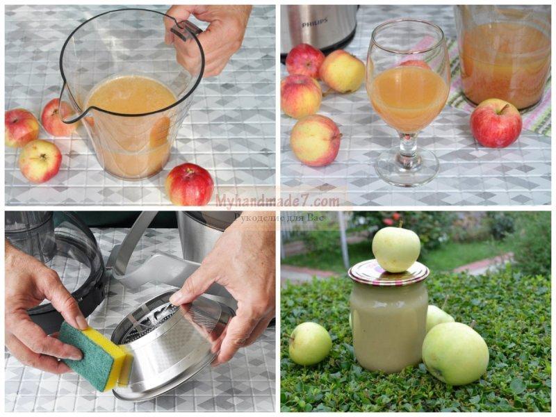 Сок из яблок на зиму из соковыжималки. Как заготовить?
