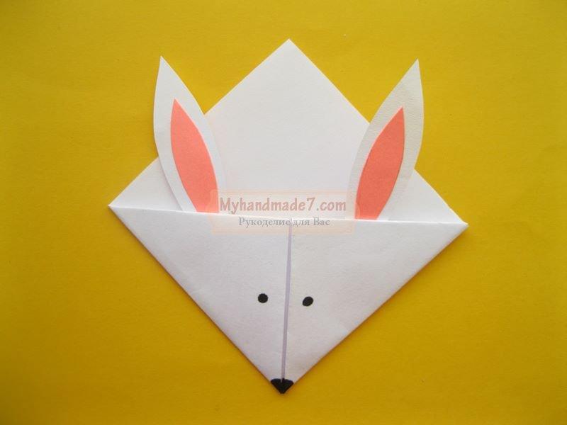 закладка кролик