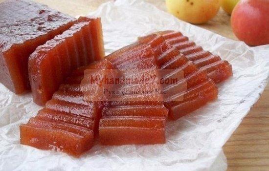 Вкусный мармелад из яблок на зиму. Лучшие рецепты