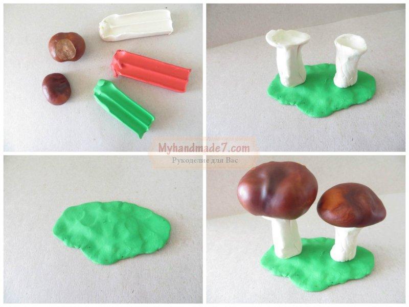 Природные поделки для детского сада своими руками