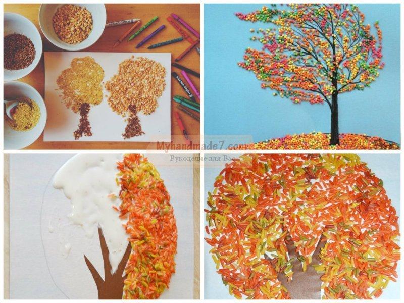 Идеи поделок для детского сада осень