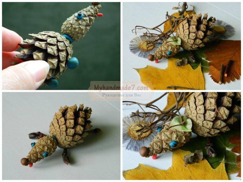 Детские поделки из природных материалов своими руками: популярные идеи с фото