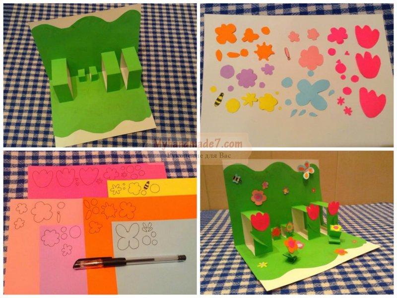 Как сделать открытку своими руками: мастер-классы с фото