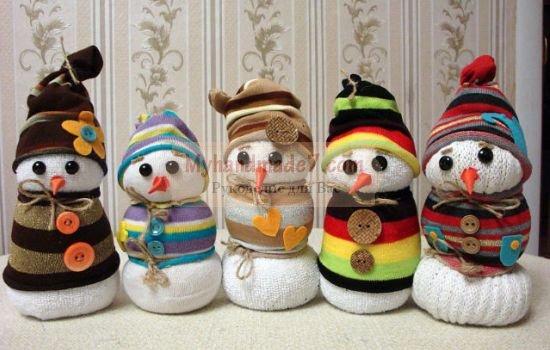 Как сделать снеговика? Пошаговые мастер-классы с фото