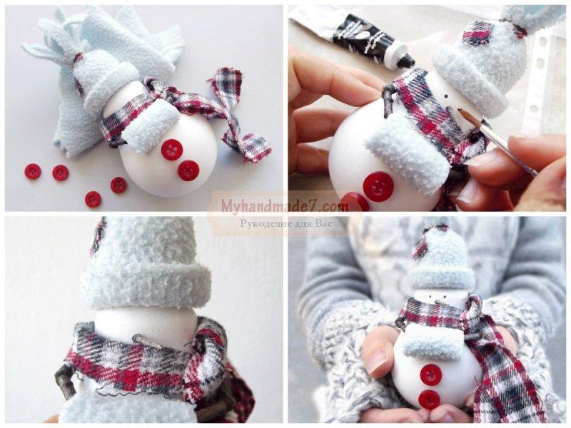 Новогодние сувениры. Как смастерить своими руками?
