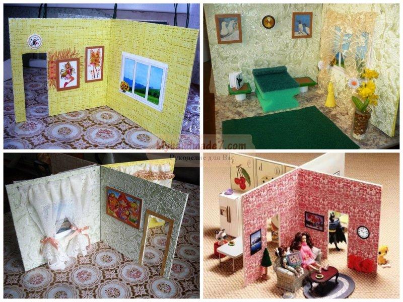 Домик для кукол своими руками: как сделать? Подробные мастер-классы с фото