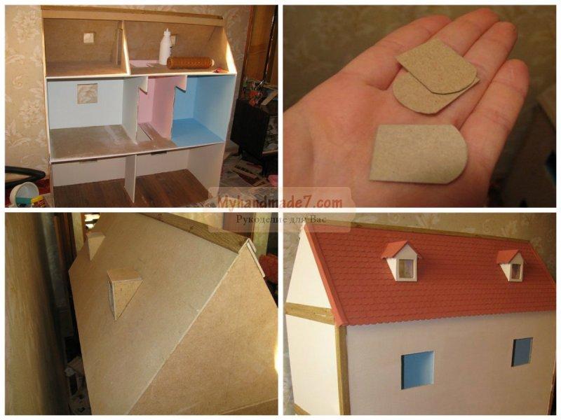 Сделать кукольный домик своими руками с фото 389