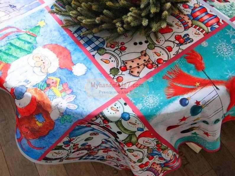 На что обратить внимание выбирая новогодний текстиль?