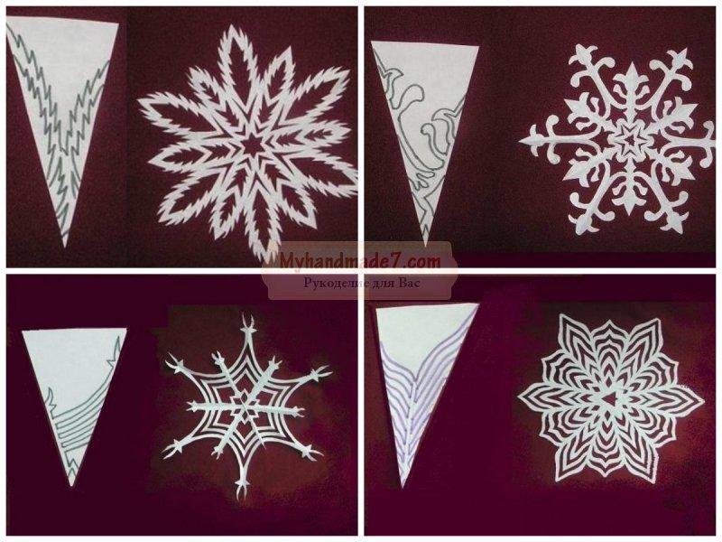 Новогодние поделки из бумаги своими руками: схемы и идеи