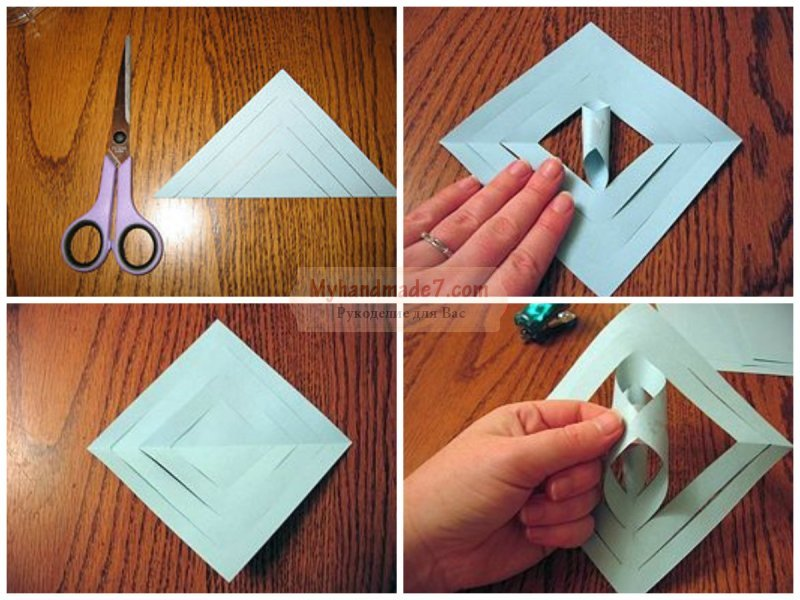 Снежинки из бумаги своими руками. Лучшие идеи с фото