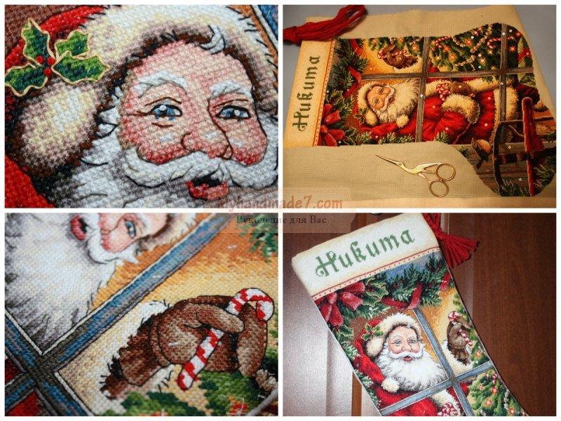 Рождественский сапожок - как сделать своими руками?