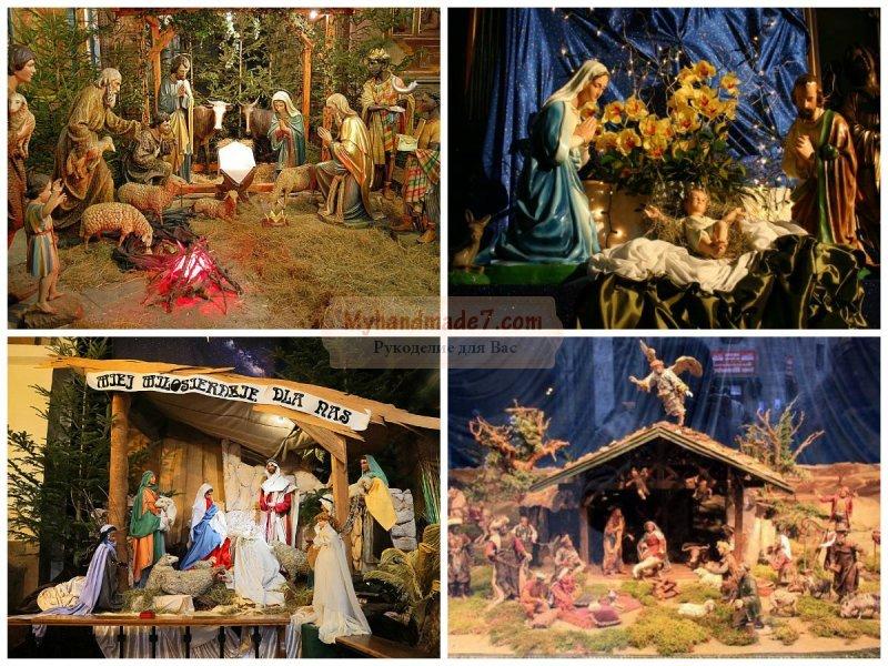 Рождественский вертеп: мастер-классы по изготовлению