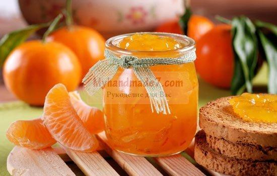 Варенье из мандаринов: вкусные рецепты с фото