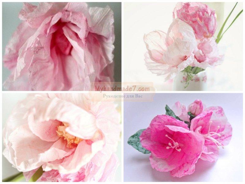 Гофрированные цветы своими руками: ТОП лучших идей с фото