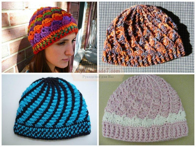 Вязание крючком шапки: схемы и описание. ТОП лучших идей с фото