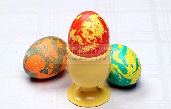Как покрасить яйца на Пасху своими руками: лучшие мастер-классы с фото
