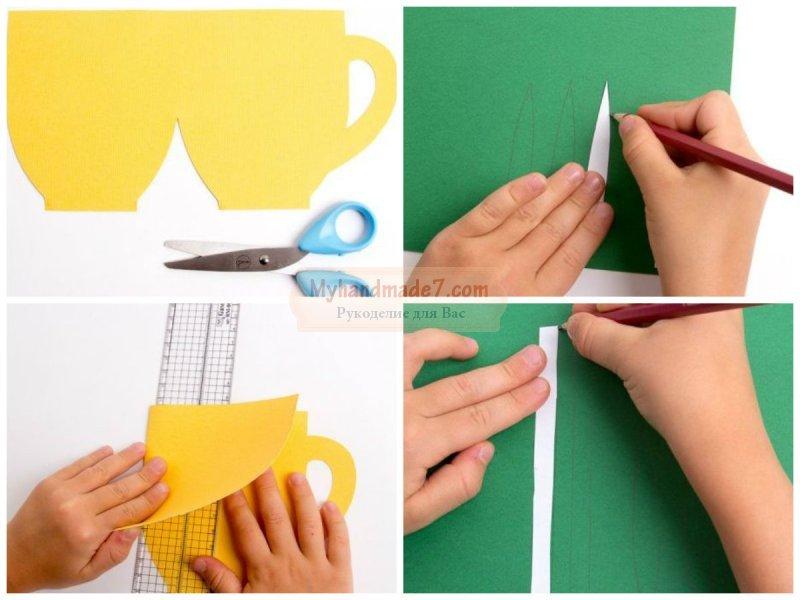 Открытка с цветами своими руками: лучшие идеи и мастер-классы с фото