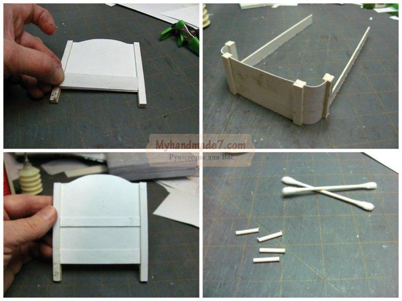 Как сделать кровать для кукол своими руками: лучшие идеи с фото
