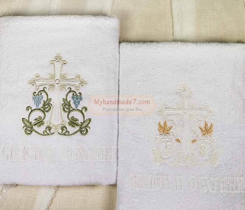 Как выбирать крестильное полотенце
