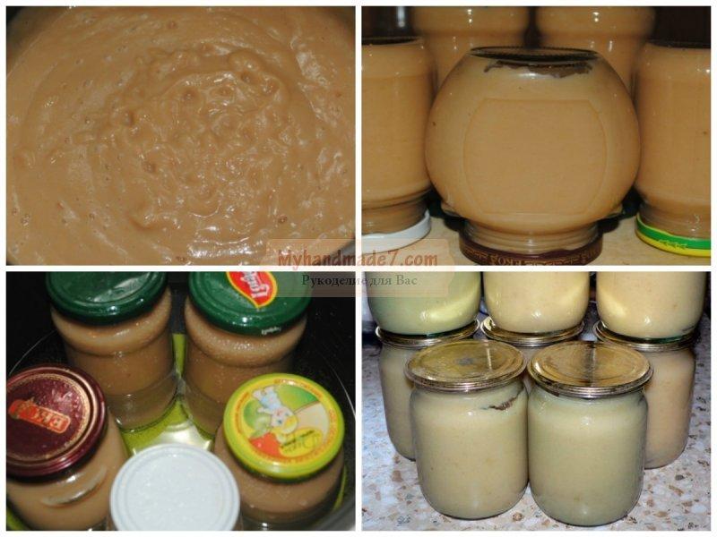 Как сделать яблочное пюре без сахара 878