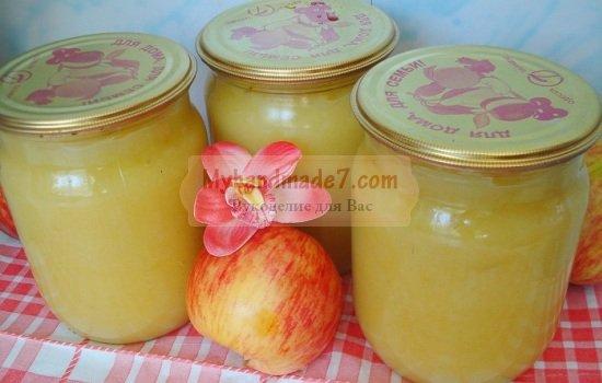 Пюре из яблок на зиму: золотые рецепты с фото