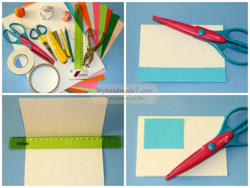 Красивые открытки своими руками из бумаги и картона. Пошаговые мастер-классы с фото