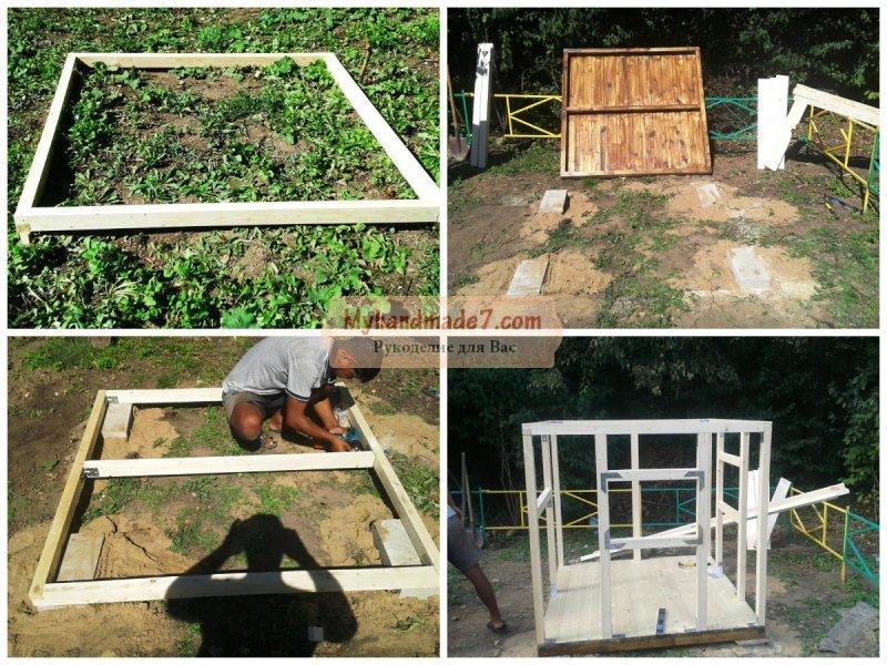 Как построить домик на даче своими руками фото 192