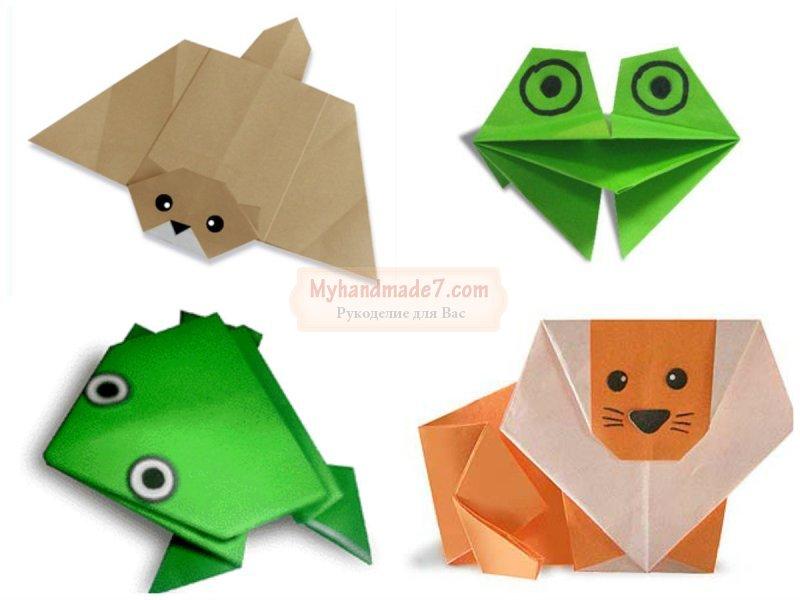 Оригами из бумаги для детей: схемы и описание