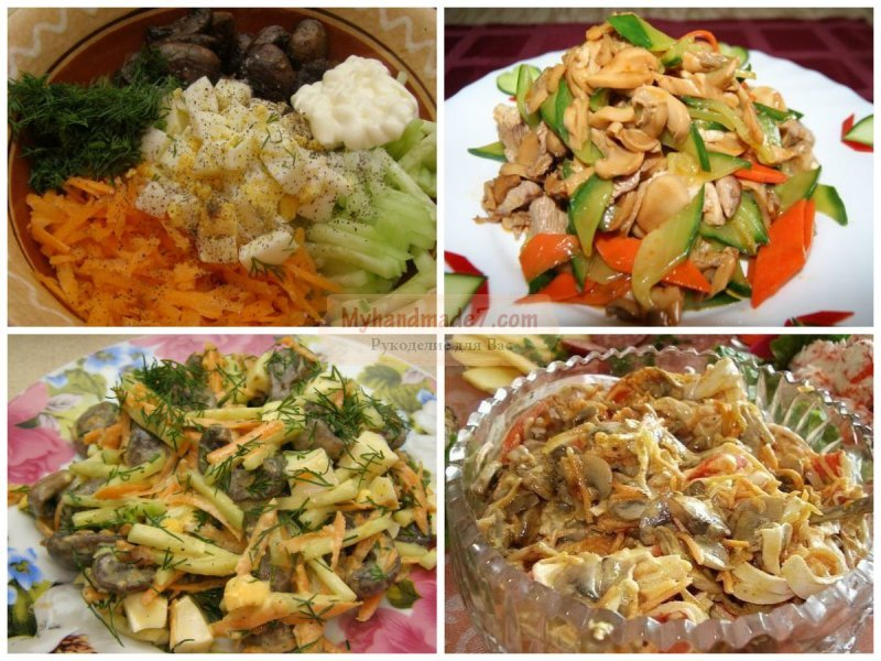 салаты с баклажанами жареными рецепты с фото