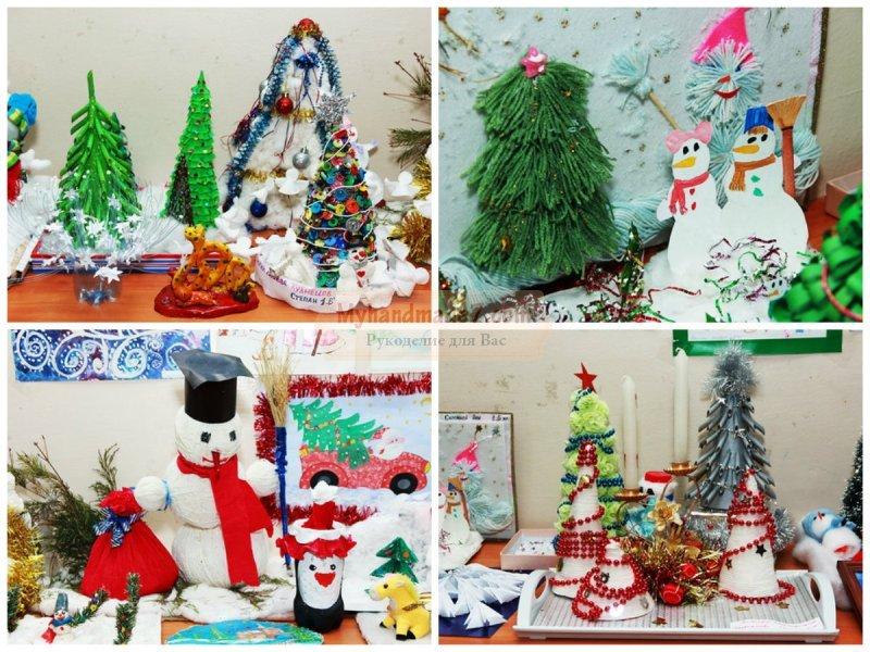 Поделки в школу к Новому году: интересные идеи с фото