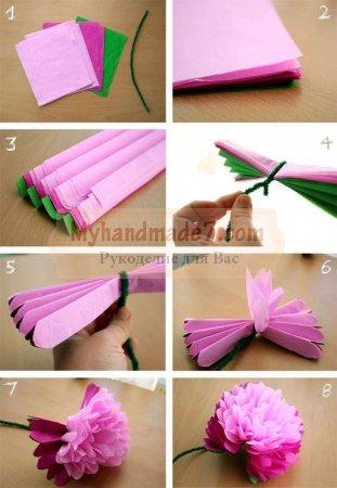 Красивые цветы из бумаги своими руками: схемы и шаблоны. ТОП -100 идей с фото