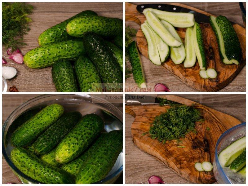 Как сделать огурцы быстро и вкусно