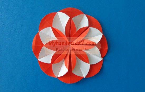 Как сделать оригами - цветок