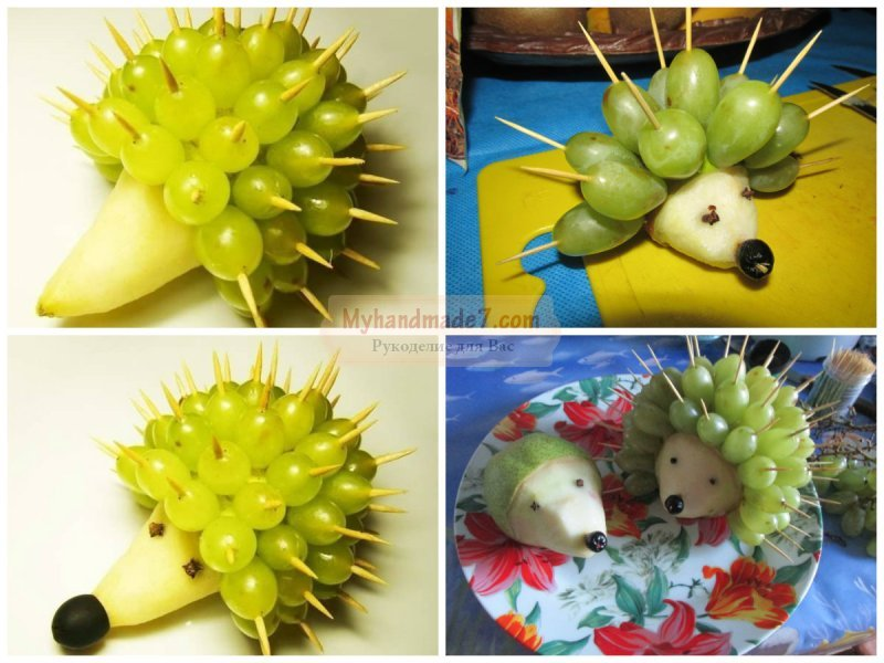 Машина из фруктов своими руками 39