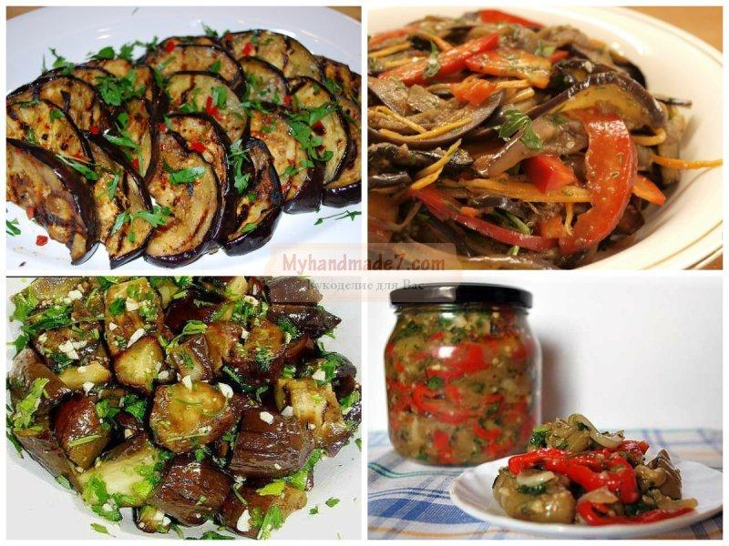 Маринованные баклажаны рецепты быстро и вкусно