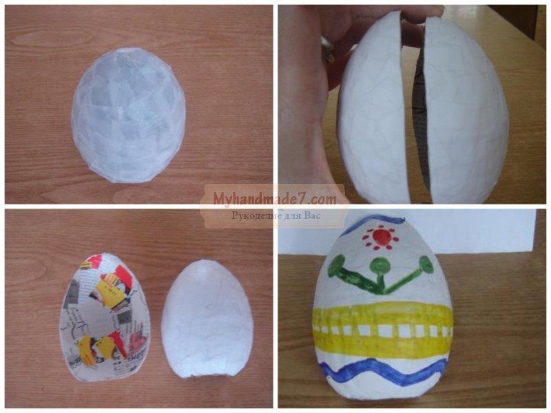 Яйцо из бумаги: делаем своими руками. Лучшие мастер-классы с фото
